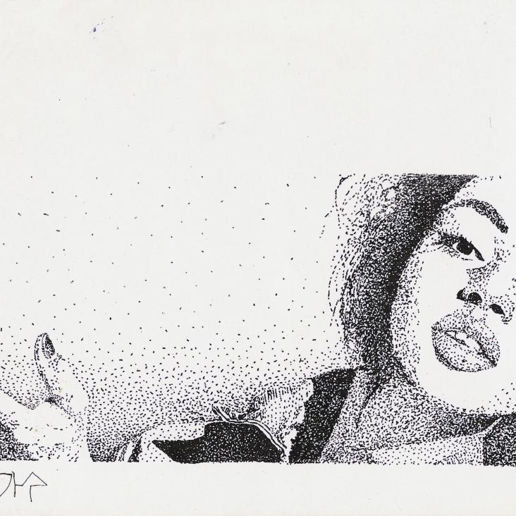 Sade pointed, 1987