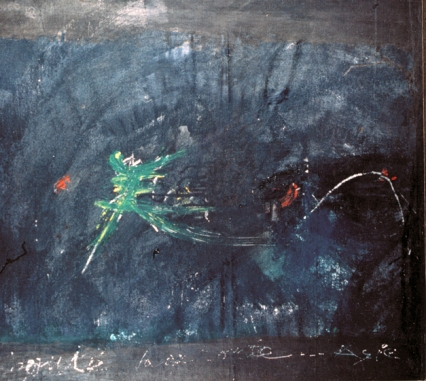 Dancing Me, 1994, Seoul, acrylic on canvas