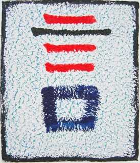 Sam kyub Mal(e), 1998, Seoul, ink and acrylic on rice paper