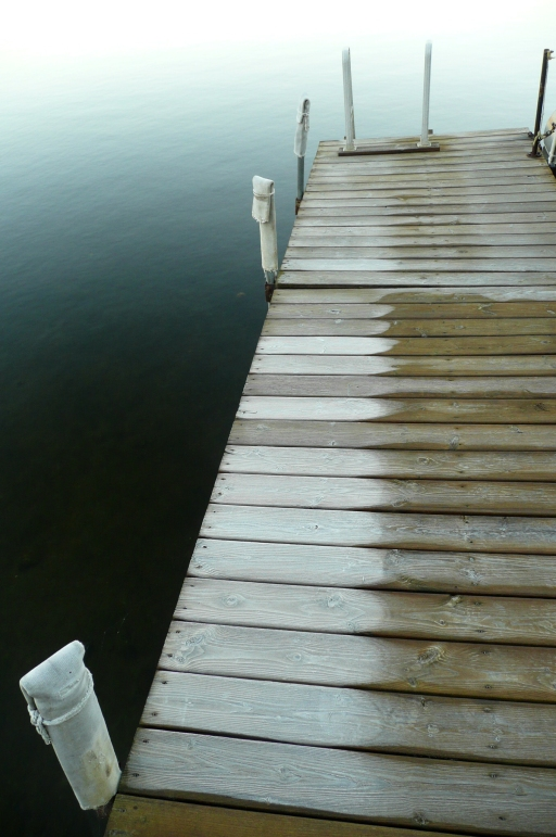 Frozen dock, 2008