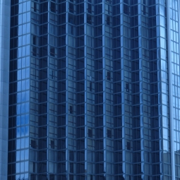 Montreal Blue tower glass, 2009
