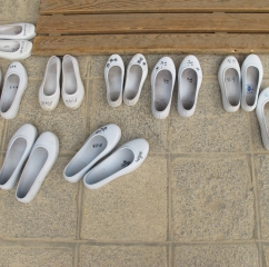 Korean rubber shoes, 2012