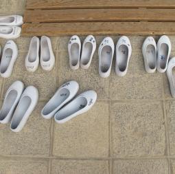 Korean rubber shoes, 2012