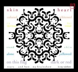 100 Heart Rainbowed, 2008, dim. var.
